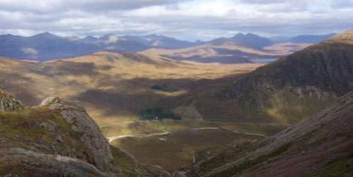 Photo: View to the NNE From Buachaille Etive Mor, Argyllshire
